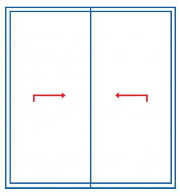 Schemat D. Systemy przesuwne Ultraglide. Profilnet Tarnowskie Góry Śląsk Gliwice Częstochowa