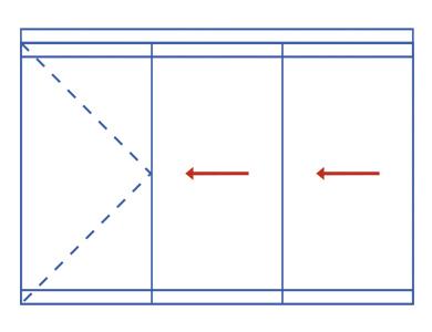 Schemat A. System ścian wewnętrznych MB-EXPO MOBILE. Profilnet Tarnowskie Góry Śląsk Chorzów Bytom