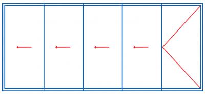 Schemat 541. Systemy przesuwne i harmonijkowe Panorama. Profilnet Tarnowskie Góry Śląsk Zabrze Miasteczko Śląskie